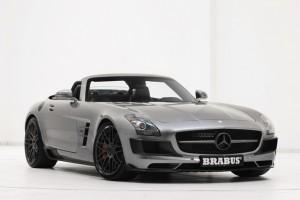 Essen Motor Show: Brabus Mercedes SLS AMG Roadster