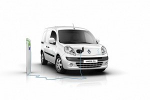 "Noul Renault Kangoo Z.E. este ""International van of the year 2012"""