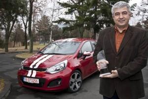"""Noul Kia Rio – """"Masina Anului 2012 in Romania"""""""