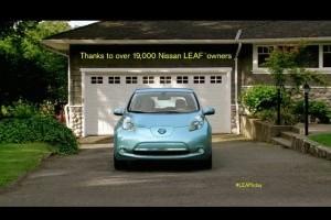 VIDEO: Nissan Leaf implineste un an