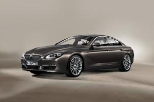 Noul BMW Seria 6 Gran Coupe cu patru usi