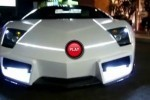 VIDEO: Lamborghini Murcielago - LEDuri in stil TRON