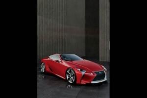 Imagini exclusive cu Lexus LF-LC Sports Coupe