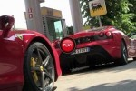 VIDEO: Benzinaria celor de la Ferrari