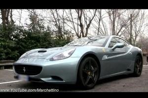VIDEO: La plimbare cu Ferrari California