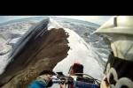 VIDEO: Cu motocicleta pe munte