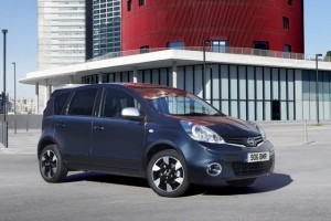 Nissan a facut mici modificari pentru modelul Note din 2012