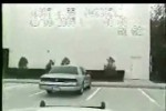 VIDEO: Cascadorii rasului cu politia americana