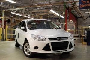 Ford a demarat productia Focus echipat cu motorul EcoBoost de 1,0 l