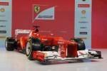 Ferrari si-a prezentat bolidul F1 pentru 2012