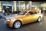 VIDEO: Un Rolls-Royce Ghost auriu in Dubai