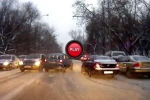 VIDEO: Rusii derapeaza cu stil