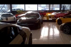 VIDEO: Un showroom plin de masini exotice