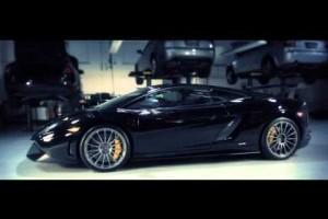 VIDEO: O fata frumoasa si un Lamborghini Superleggera Blancpain