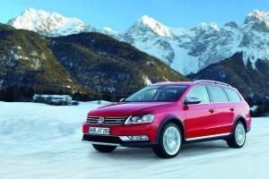 VW Passat Alltrack din toate unghiurile