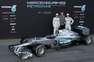 Mercedes isi prezinta masina de Formula 1