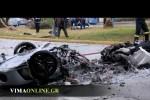 Accident oribil cu Ferrari F430