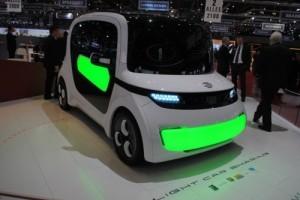 GENEVA 2012 LIVE: Light Car Sharing Concept