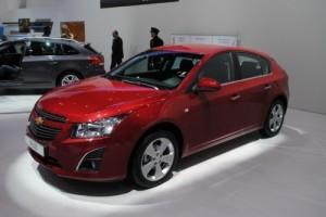 GENEVA 2012 LIVE: Chevrolet Cruze Hatchback