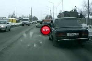 VIDEO: Lada merge si fara roata
