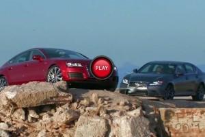 Lexus GS 350 F Sport 2013 impotriva lui Audi A7 Sportback