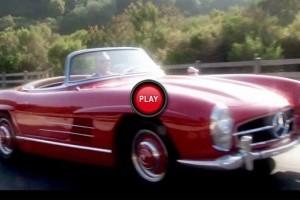 60 de ani de Mercedes-Benz SL Roadster in mai putin de 5 minute