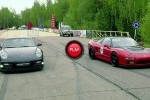 Porsche 911 Turbo S versus Honda NSX