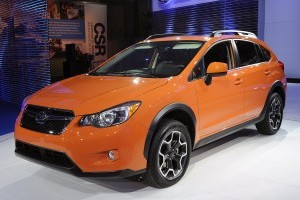 New York Motor Show 2012: Subaru XV Crosstrek