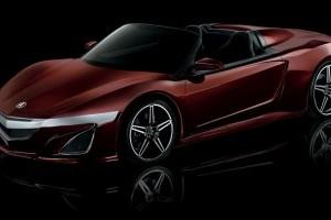 Primul Acura NSX Roadster va fi condus de Iron Man