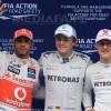 Rosberg obtine primul pole position din cariera