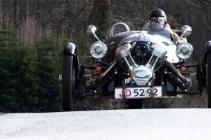Morgan 3 Wheeler - O masina cu o atitudine clasica