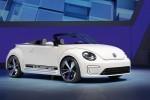 Imagini oficiale cu Volkswagen E-Bugster Cabrio