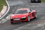 Imagini spion cu Audi R8 e-Tron