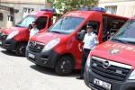 Sase autospeciale Opel Movano intra de azi in dotarea ISU