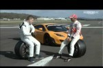 Lewis Hamilton la volanul unui McLaren MP4-12C GT3