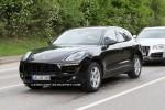 Imagini spion cu Porsche Macan SUV