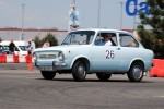 Calin Popescu Tariceanu piloteaza un Fiat 850