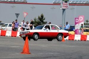 VIDEO: Opel Ascona la proba de indemanare auto