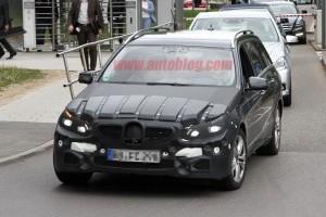 Imagini spion cu Mercedes E-Class Facelift