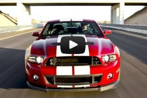 Ford Mustang Shelby GT500 in actiune