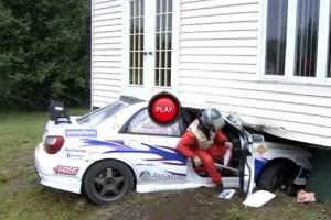 Accident in timpul unui raliu