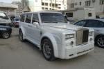 TUNING: Nissan Patrol cu fata de Rolls Royce Phantom