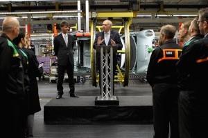 MINI anunta o noua investitie de 250 milioane de lire sterline in uzinele din Marea Britanie