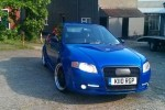 TUNING: Subaru Impreza WRX cu elemente de Audi A4 si BMW Seria 5