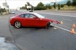 Intre timp in Rusia: Un Ferrari 612 Scaglietti distrus