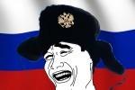 Intre timp in Rusia - Camionul care ruleaza pe trei roti