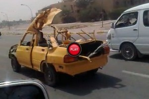 Intre timp in Irak - O decapotabila cu prestanta