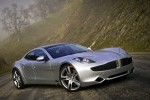 VIDEO: Un Fisker Karma in flacari