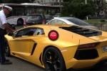 Unui politist din Monaco nu ii place sunetul produs de Lamborghini Aventador