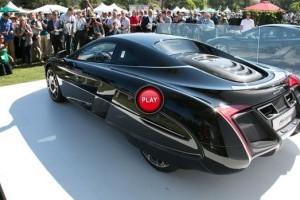 Material video cu noul concept McLaren X-1